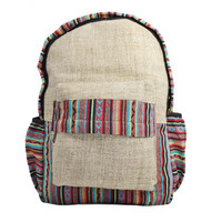 Hemp made Light weight backpack for Multipurpose by Mato