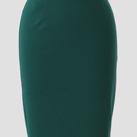 Passing Notes Pencil Skirt