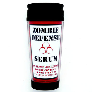 Resident Evil Zombie Apocolypse Insulated Thermal Travel Mug