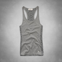 Brieann Lace Back Tank