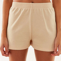 Op For UO High-Rise Fleece Short | Urban Outfitters