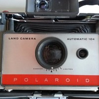 Polaroid 104 Instant Pack Film Land Camera