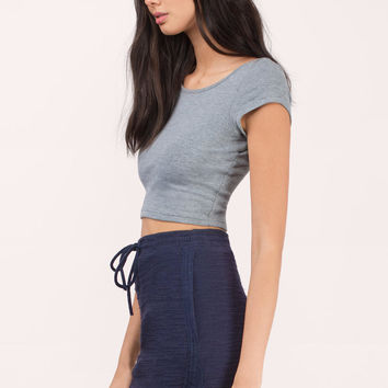 Down to Earth Hi-Low Skirt