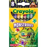 Crayola 8ct Pick your Pack Monstrous Crayons