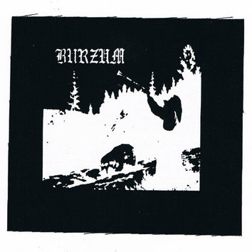 Burzum Black Metal Patch