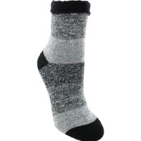 Yaktrax Women's Cozy Cabin Stripe Crew Socks | DICK'S Sporting Goods