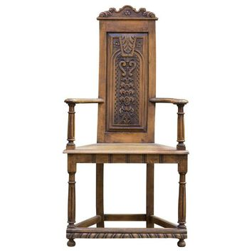 Pre-owned Flemish Baroque Hall Chair