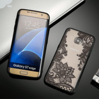 Samsung Galaxy Floral Lace Phone Case