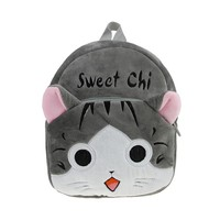 Toddler Kids Cute Cartoon Snack Toy School Shoulder Bag Zoo Backpack Purse Baby Plush Animal Backpack Daypack for Boys girls