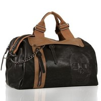 Black Skull Duffle Bag