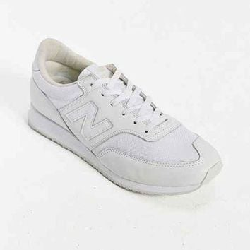 ICIK1IN new balance 620 whiteout running sneaker white