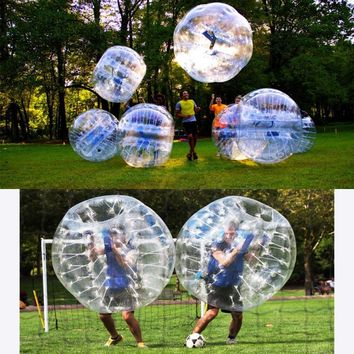 Bumper ball 1.2/1.5m diameter ,bubble ball, use for playing football, kids outdoor game, outdoor toys