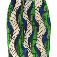 FAIR+true Fair Trade African Print Pencil Skirt