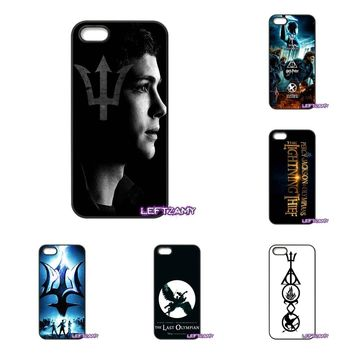Percy Jackson Divergent Art Hard Phone Case Cover For iPhone 4 4S 5 5C SE 6 6S 7 8 Plus X 4.7 5.5 iPod Touch 4 5 6