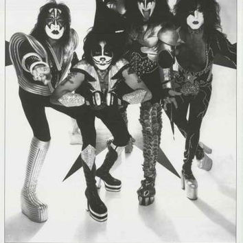 KISS Classic Band Portrait Poster 24x36