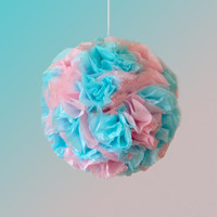 Gender Reveal | Flower Ball | Pomander | Kissing Ball | Custom Colors | Babby Shower Pinata | Pinata
