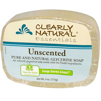 Clearly Natural Gly Soap Unscented 3pk (8x3pack )