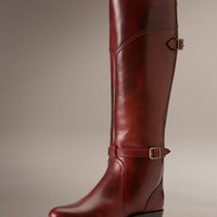 Frye Women's Dorado Lug Riding Boot - Burnt Red
