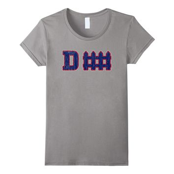D fence Funny Defense New York Football T-shirt
