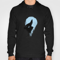 Wolf Hoody by TwO Owls