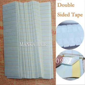 100tabs 3 months SUPER HAIR TAPE Adhesive Double Side Tape for remy hair extension tape, tools for hair extension