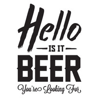 Is It Beer? wall decal