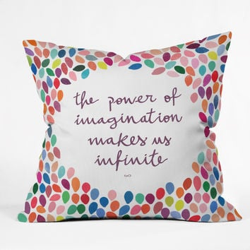 Garima Dhawan Imagination Outdoor Throw Pillow