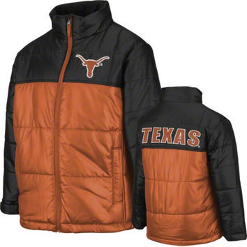 Texas Longhorns Preschool Explorer Bubble Jacket - http://www.shareasale.com/m-pr.cfm?merchantID=42812&userID=1042934&productID=534106325 / Texas Longhorns
