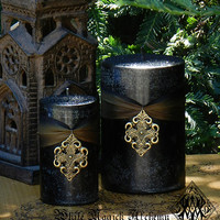 Freyja Goddess Warrior Pillar Candles . Norse Goddess Magick, Shielding, Protection, Love, Courage, Strength