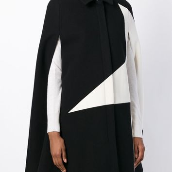 Msgm Star Print Cape Coat - Satù - Farfetch.com