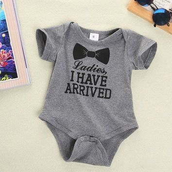 I Have Arrived Baby Infant Onesuit Bodysuit