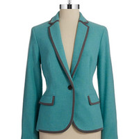 Single Button Blazer
