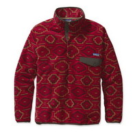 Patagonia Synchilla Snap-T Mens Pullover Jacket in Yanaba Molten Lava (25450-YML)