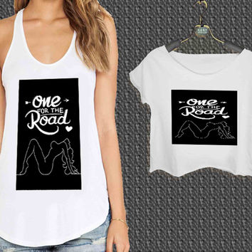 One for the Road Arctic Monkeys For Woman Tank Top , Man Tank Top / Crop Shirt, Sexy Shirt,Cropped Shirt,Crop Tshirt Women,Crop Shirt Women S, M, L, XL, 2XL*NP*