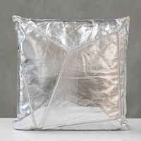 "18""x18"" Shining Pillow - Silver"
