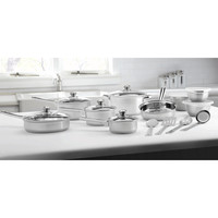 Mainstays Stainless Steel 18-Piece Cookware Set - Walmart.com