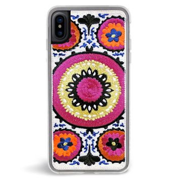 Bellisima Embroidered iPhone X Case