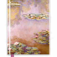 Monet: Waterlilies (Foiled Journal) - Flame Tree Publishing