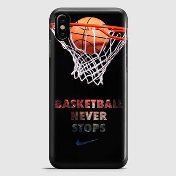 Nike Basketball iPhone X Case