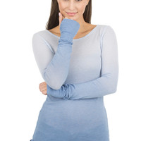 AUGUST - WOMENS L/S WITH THUMBHOLES