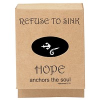 Consuela Anchor Ring, Inspirational Jewelry Rings for Women