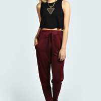 Hatty Crepe Jogger Trouser