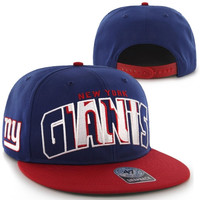 47 Brand New York Giants Youth No Rulz Structured Snapback Hat - http://www.shareasale.com/m-pr.cfm?merchantID=29078&userID=1042934&productID=545874250