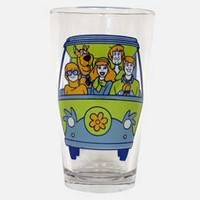 Scooby-Doo Mystery Machine Pintglass: WBshop.com - The Official Online Store of Warner Bros. Studios