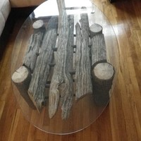 Brooklyn's Authentic Driftwood Table by greeshulik on Etsy