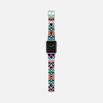Multicolor Tribal Pattern Apple Watch Band (38mm) by Organic Saturation | Casetify