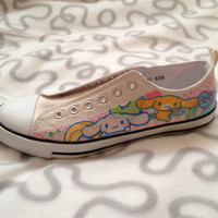 Custom Cinnamoroll Shoes by LoonaCreations on Etsy