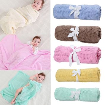 Baby Knitted Casual Air Conditioning Blanket
