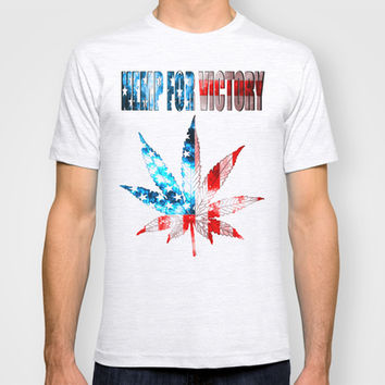Hemp For Victory T-shirt by Nate4D7