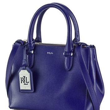 Lauren Ralph Lauren Newbury Leather Mini Satchel